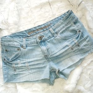 Womens Jean's Booty Shorts